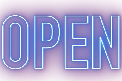 OPEN exhibition logo
